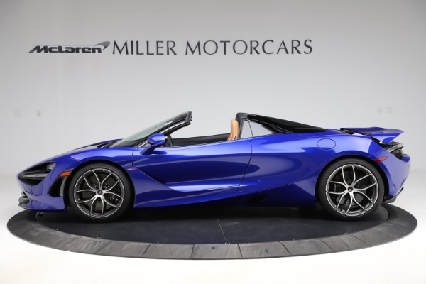 New 2020 McLaren 720S SPIDER Convertible for sale $374,830 at McLaren Greenwich in Greenwich CT 06830 3