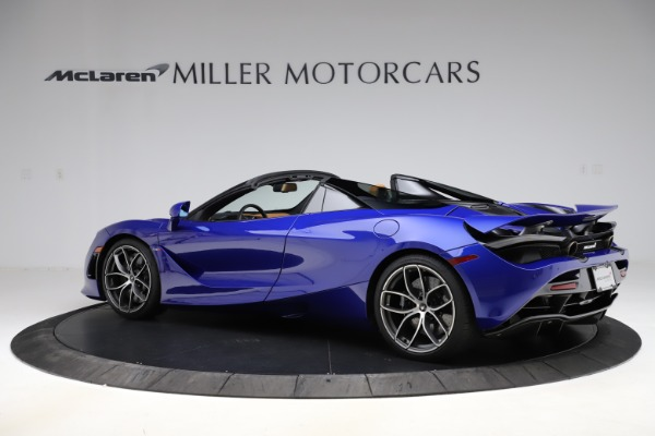 New 2020 McLaren 720S SPIDER Convertible for sale $374,830 at McLaren Greenwich in Greenwich CT 06830 4