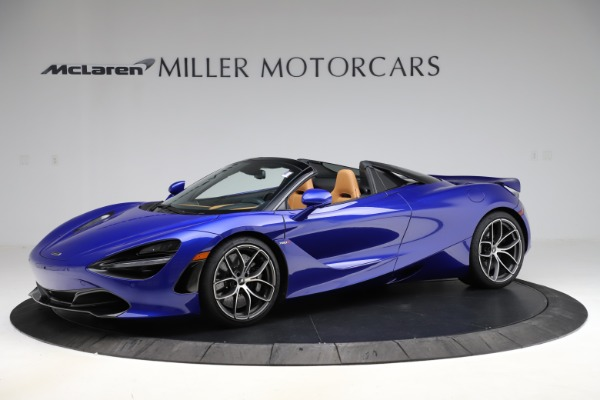 New 2020 McLaren 720S SPIDER Convertible for sale $374,830 at McLaren Greenwich in Greenwich CT 06830 1