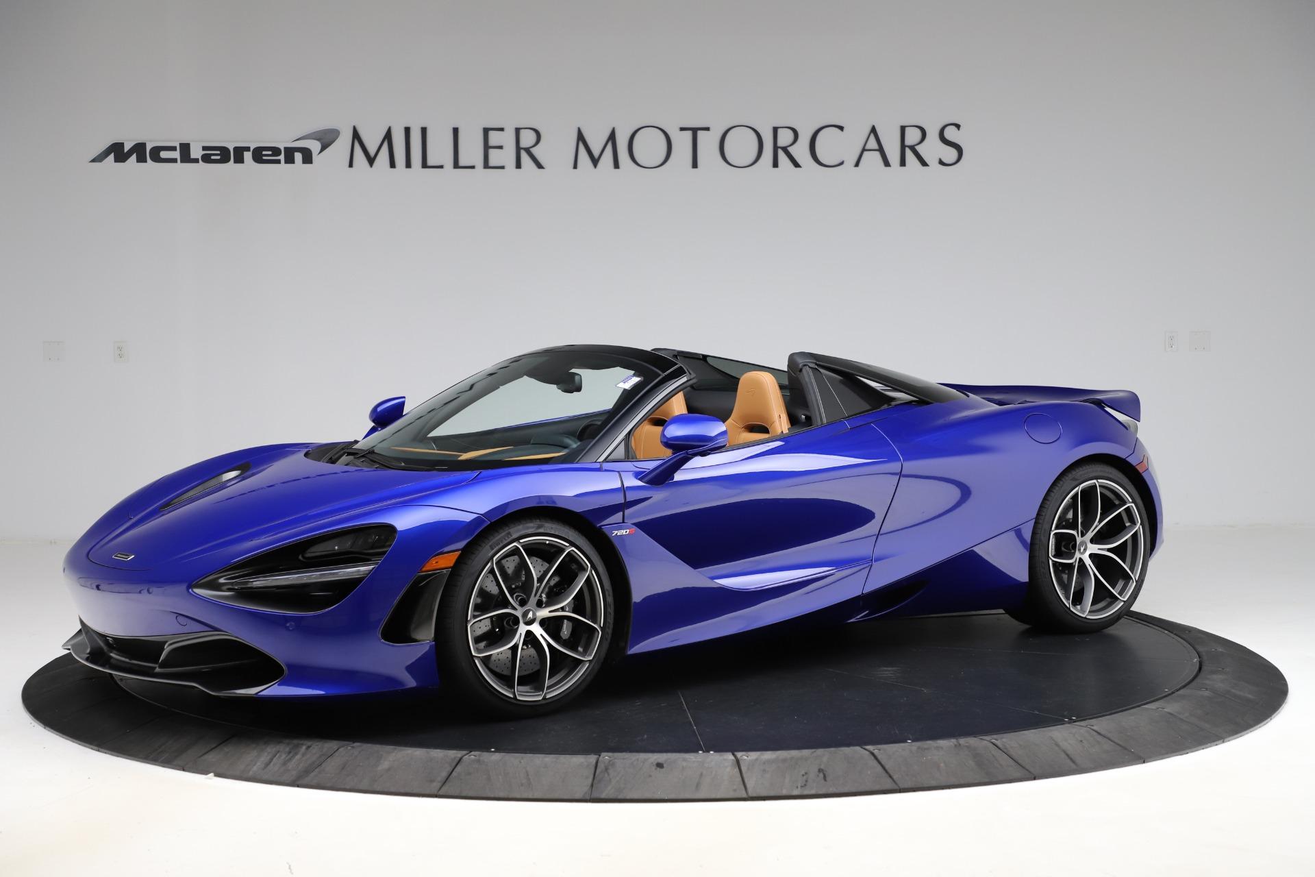 New 2020 McLaren 720S Spider Luxury for sale $374,830 at McLaren Greenwich in Greenwich CT 06830 1