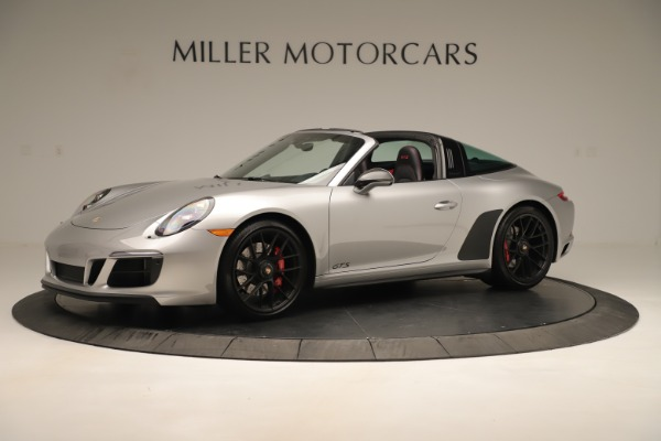 Used 2017 Porsche 911 Targa 4 GTS for sale Sold at McLaren Greenwich in Greenwich CT 06830 2