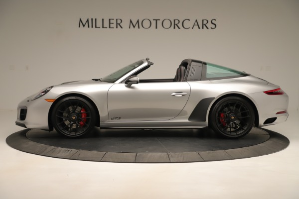 Used 2017 Porsche 911 Targa 4 GTS for sale Sold at McLaren Greenwich in Greenwich CT 06830 3