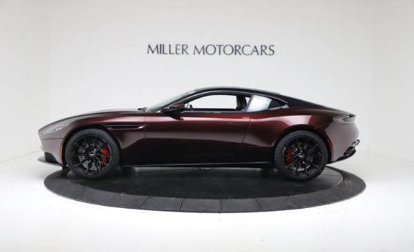 New 2019 Aston Martin DB11 V12 AMR Coupe for sale $263,916 at McLaren Greenwich in Greenwich CT 06830 3
