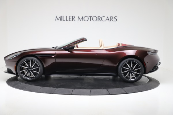 Used 2020 Aston Martin DB11 Volante Convertible for sale $219,900 at McLaren Greenwich in Greenwich CT 06830 3
