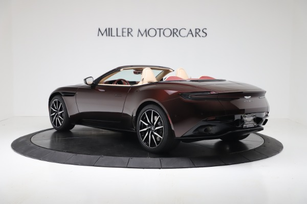 Used 2020 Aston Martin DB11 Volante Convertible for sale $223,900 at McLaren Greenwich in Greenwich CT 06830 4