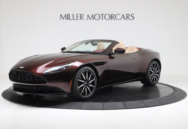 Used 2020 Aston Martin DB11 Volante for sale $217,900 at McLaren Greenwich in Greenwich CT 06830 1
