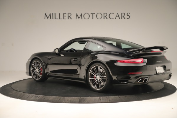 Used 2014 Porsche 911 Turbo for sale Sold at McLaren Greenwich in Greenwich CT 06830 4