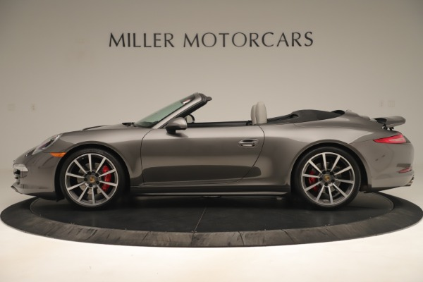 Used 2015 Porsche 911 Carrera 4S for sale Sold at McLaren Greenwich in Greenwich CT 06830 3