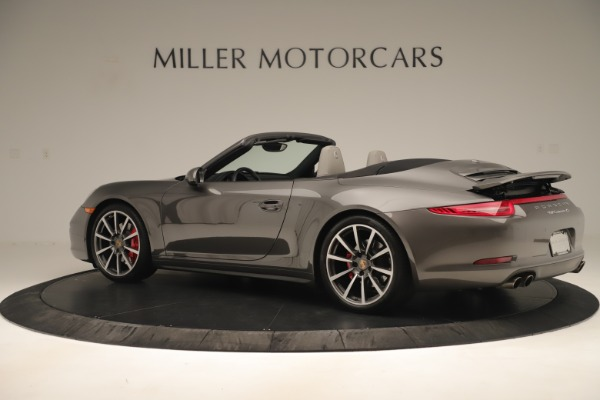 Used 2015 Porsche 911 Carrera 4S for sale Sold at McLaren Greenwich in Greenwich CT 06830 4