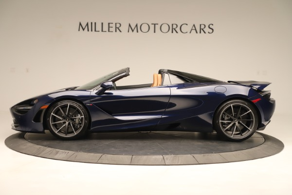 New 2020 McLaren 720S Spider Convertible for sale $372,250 at McLaren Greenwich in Greenwich CT 06830 2