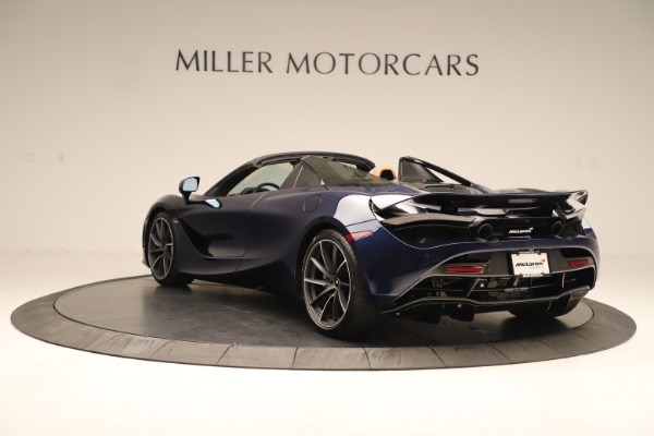 New 2020 McLaren 720S Spider Convertible for sale $372,250 at McLaren Greenwich in Greenwich CT 06830 3