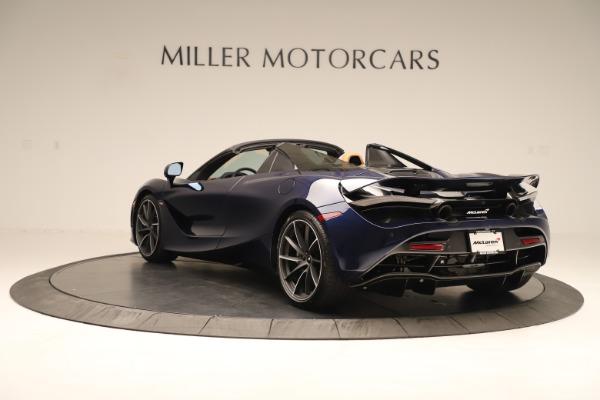 New 2020 McLaren 720S Spider for sale $372,250 at McLaren Greenwich in Greenwich CT 06830 3