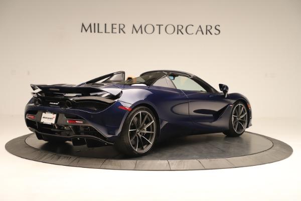 New 2020 McLaren 720S Spider for sale $372,250 at McLaren Greenwich in Greenwich CT 06830 4