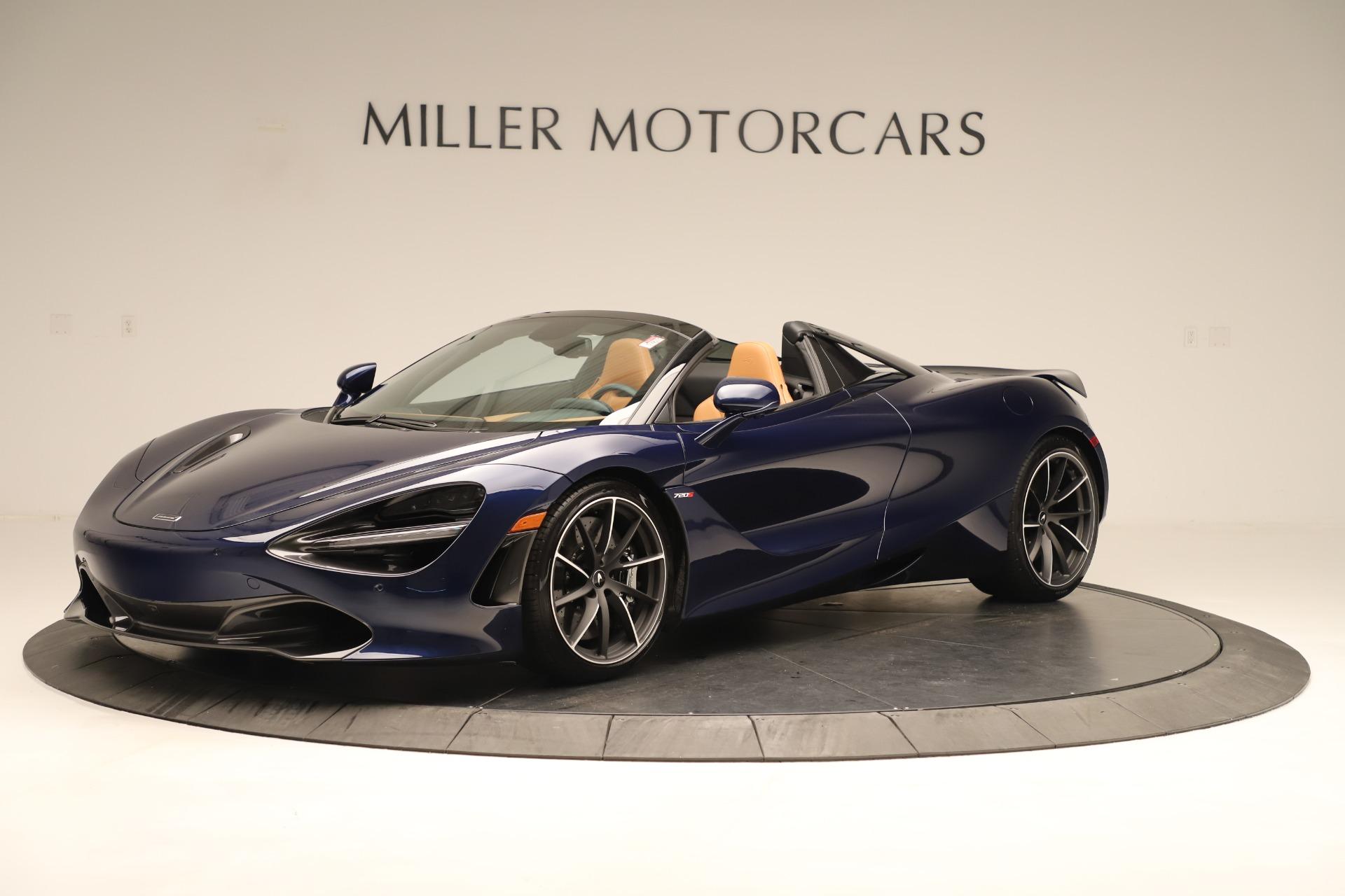New 2020 McLaren 720S Spider for sale $372,250 at McLaren Greenwich in Greenwich CT 06830 1