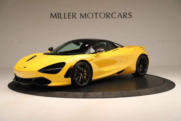 New 2020 McLaren 720S SPIDER Convertible for sale $385,690 at McLaren Greenwich in Greenwich CT 06830 2