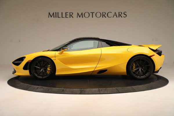 New 2020 McLaren 720S SPIDER Convertible for sale $385,690 at McLaren Greenwich in Greenwich CT 06830 3
