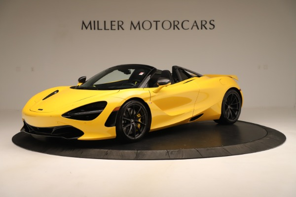 New 2020 McLaren 720S SPIDER Convertible for sale $385,690 at McLaren Greenwich in Greenwich CT 06830 1
