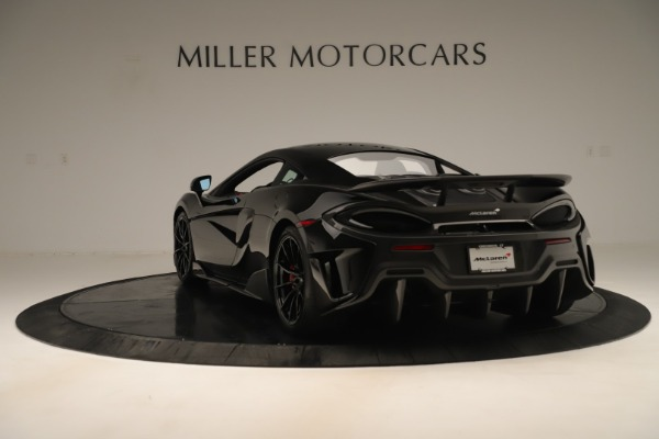Used 2019 McLaren 600LT Luxury for sale Call for price at McLaren Greenwich in Greenwich CT 06830 4