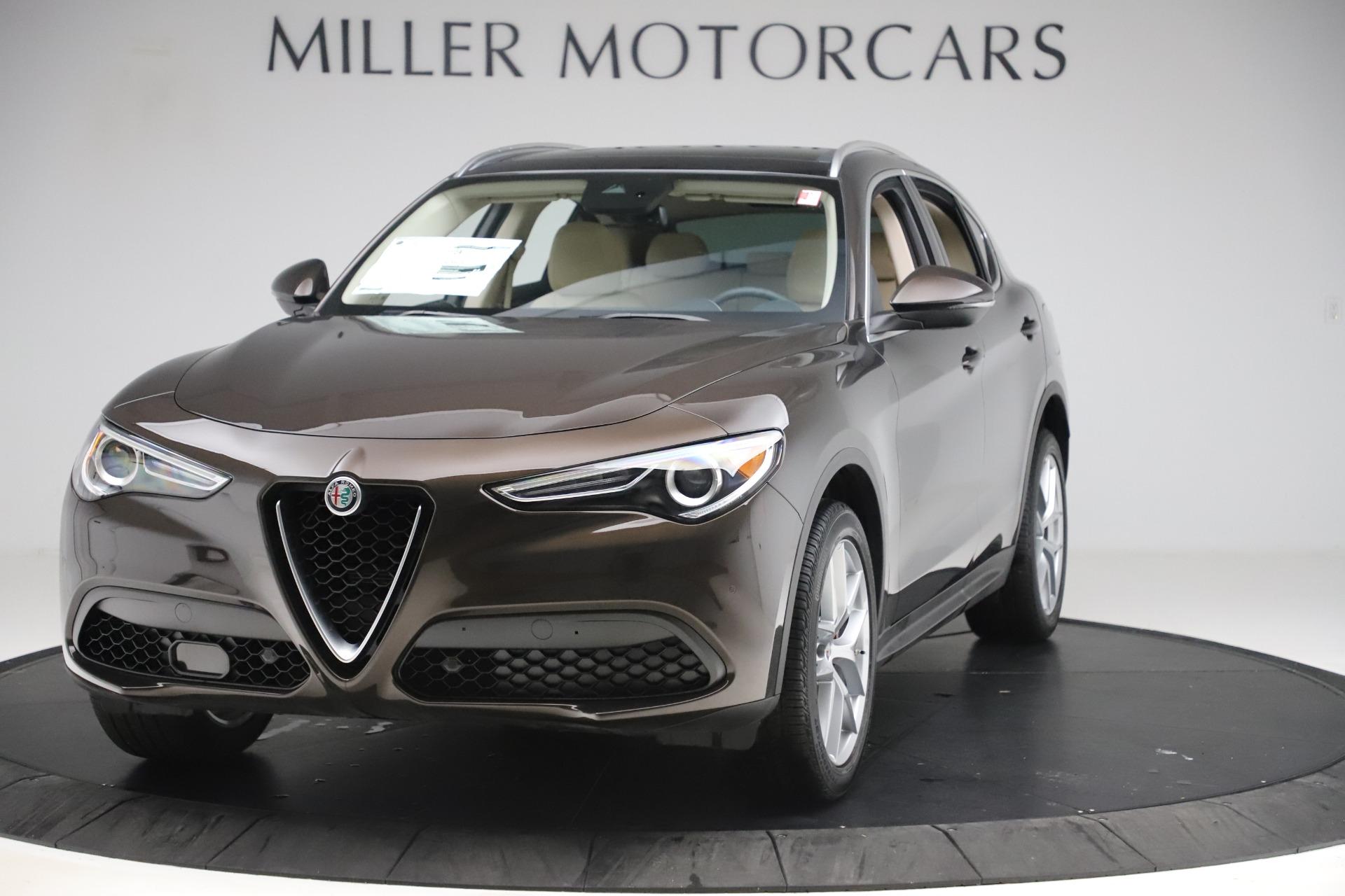 New 2019 Alfa Romeo Stelvio Ti Lusso Q4 for sale $54,790 at McLaren Greenwich in Greenwich CT 06830 1