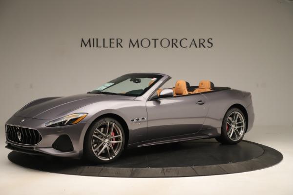 New 2019 Maserati GranTurismo Sport Convertible for sale Sold at McLaren Greenwich in Greenwich CT 06830 2