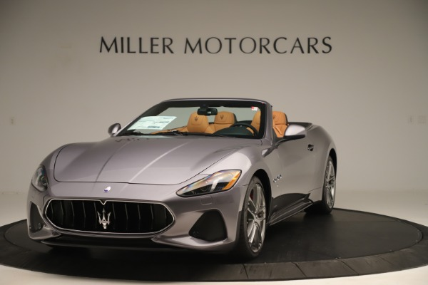 New 2019 Maserati GranTurismo Sport Convertible for sale Sold at McLaren Greenwich in Greenwich CT 06830 1