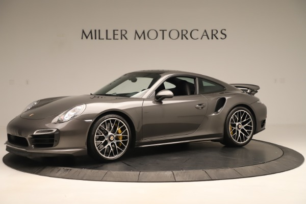 Used 2015 Porsche 911 Turbo S for sale Sold at McLaren Greenwich in Greenwich CT 06830 2