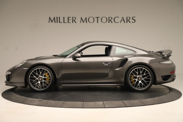 Used 2015 Porsche 911 Turbo S for sale Sold at McLaren Greenwich in Greenwich CT 06830 3