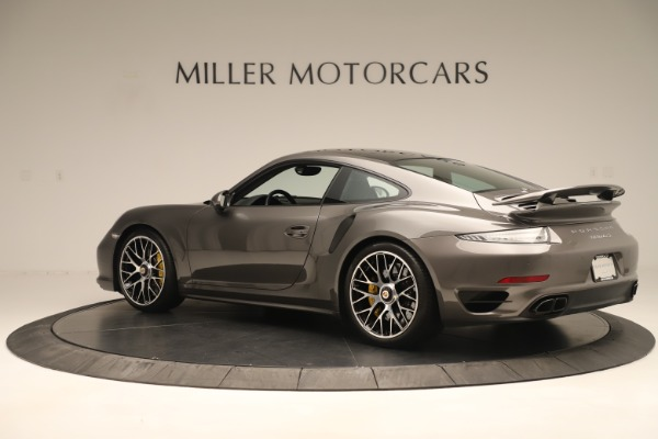 Used 2015 Porsche 911 Turbo S for sale Sold at McLaren Greenwich in Greenwich CT 06830 4