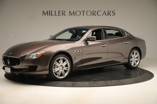 Used 2014 Maserati Quattroporte S Q4 for sale Sold at McLaren Greenwich in Greenwich CT 06830 2