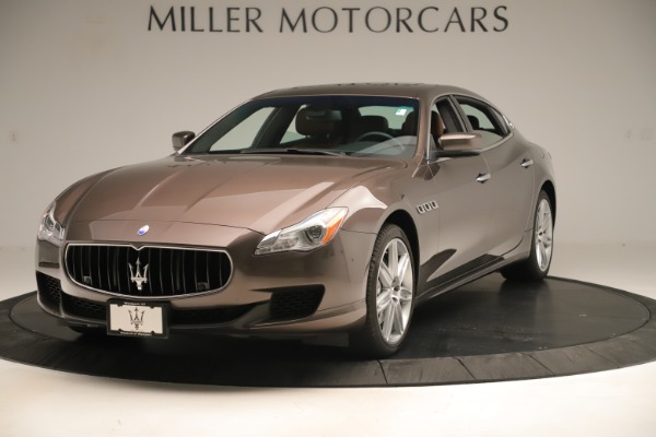 Used 2014 Maserati Quattroporte S Q4 for sale Sold at McLaren Greenwich in Greenwich CT 06830 1