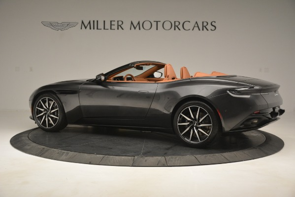 Used 2019 Aston Martin DB11 V8 Volante for sale Sold at McLaren Greenwich in Greenwich CT 06830 3