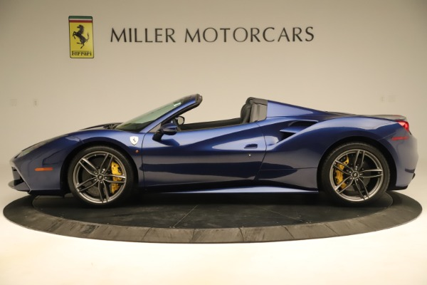 Used 2019 Ferrari 488 Spider for sale Sold at McLaren Greenwich in Greenwich CT 06830 3