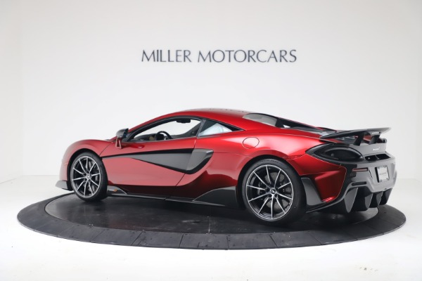 New 2019 McLaren 600LT Coupe for sale $285,236 at McLaren Greenwich in Greenwich CT 06830 3