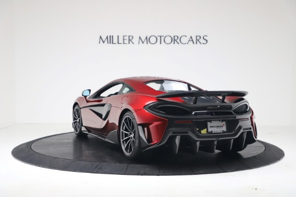 New 2019 McLaren 600LT Coupe for sale $285,236 at McLaren Greenwich in Greenwich CT 06830 4