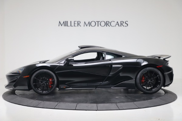 New 2019 McLaren 600LT Coupe for sale $305,639 at McLaren Greenwich in Greenwich CT 06830 2