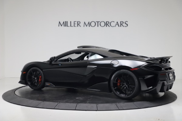 New 2019 McLaren 600LT Coupe for sale $305,639 at McLaren Greenwich in Greenwich CT 06830 3