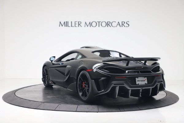 New 2019 McLaren 600LT Coupe for sale $305,639 at McLaren Greenwich in Greenwich CT 06830 4