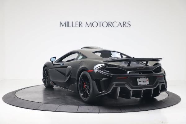 New 2019 McLaren 600LT for sale $305,639 at McLaren Greenwich in Greenwich CT 06830 4