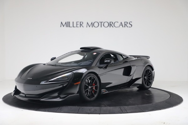 New 2019 McLaren 600LT Coupe for sale $305,639 at McLaren Greenwich in Greenwich CT 06830 1