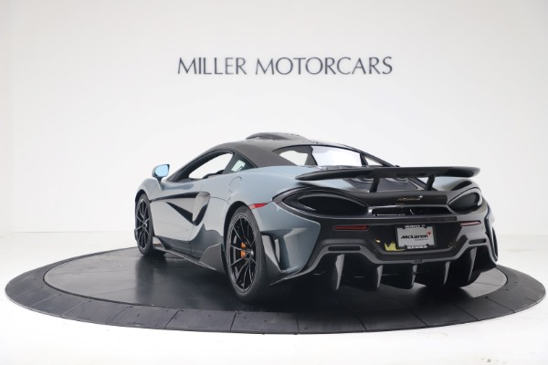 New 2019 McLaren 600LT Coupe for sale $311,619 at McLaren Greenwich in Greenwich CT 06830 4