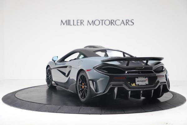 New 2019 McLaren 600LT for sale $311,619 at McLaren Greenwich in Greenwich CT 06830 4