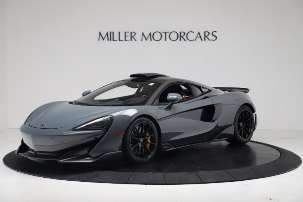 New 2019 McLaren 600LT Coupe for sale $311,619 at McLaren Greenwich in Greenwich CT 06830 1