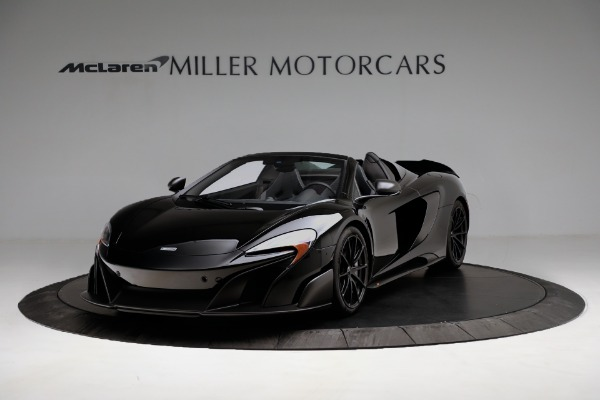 Used 2016 McLaren 675LT Convertible for sale Sold at McLaren Greenwich in Greenwich CT 06830 2