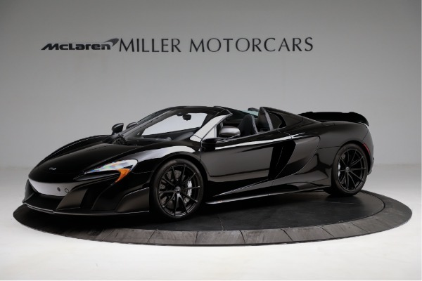 Used 2016 McLaren 675LT Convertible for sale Sold at McLaren Greenwich in Greenwich CT 06830 1