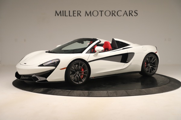New 2020 McLaren 570S Convertible for sale Sold at McLaren Greenwich in Greenwich CT 06830 1