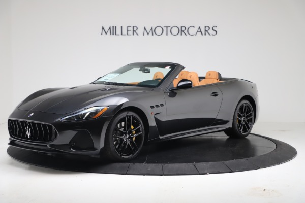 New 2019 Maserati GranTurismo MC Convertible for sale Sold at McLaren Greenwich in Greenwich CT 06830 2