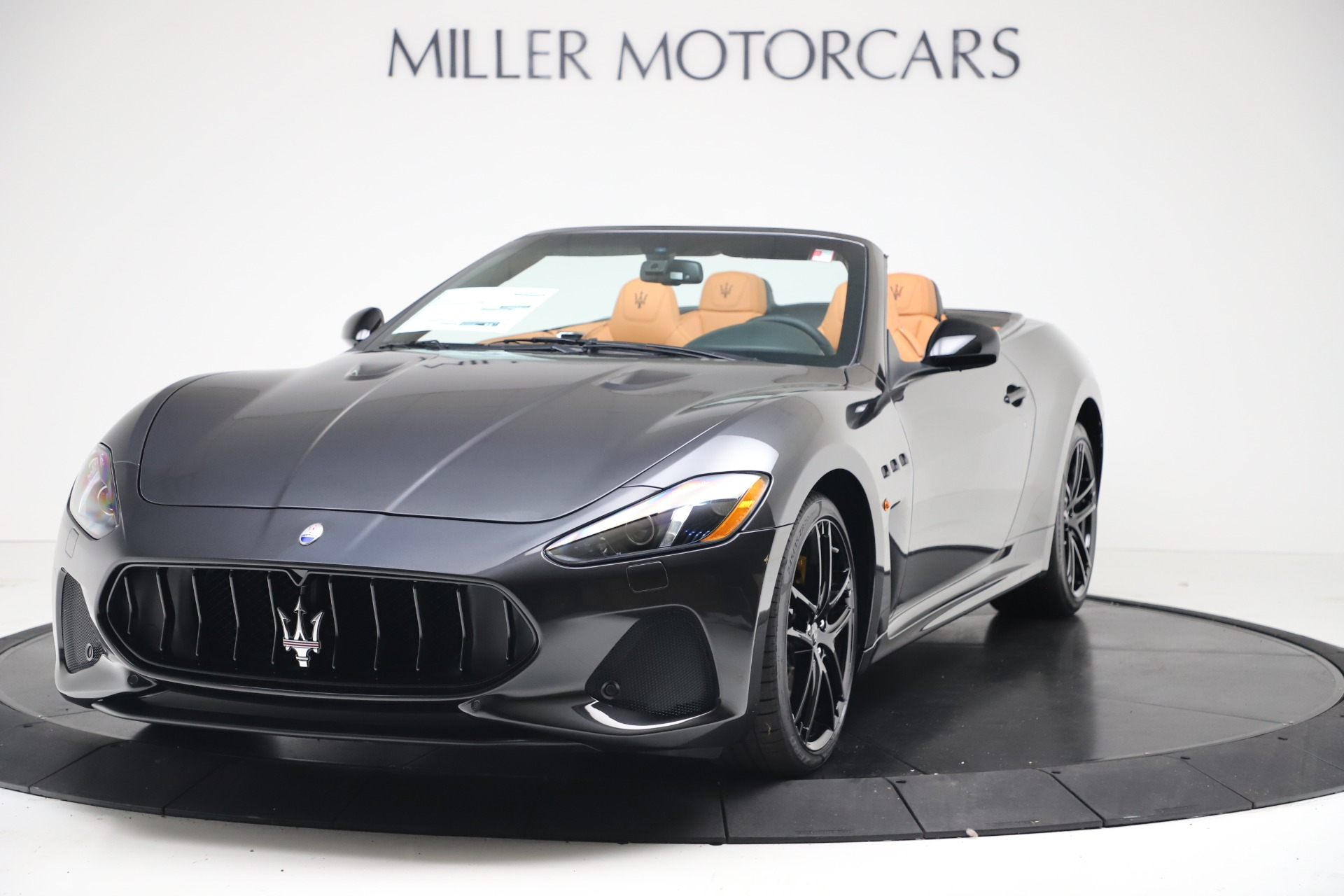 New 2019 Maserati GranTurismo MC Convertible for sale Sold at McLaren Greenwich in Greenwich CT 06830 1