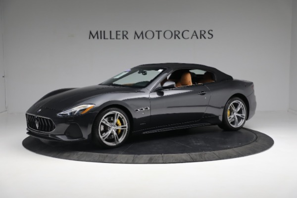 New 2019 Maserati GranTurismo Sport Convertible for sale $164,075 at McLaren Greenwich in Greenwich CT 06830 2