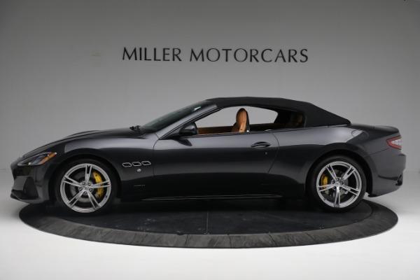 New 2019 Maserati GranTurismo Sport Convertible for sale $164,075 at McLaren Greenwich in Greenwich CT 06830 3