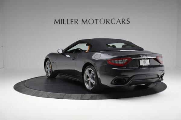 New 2019 Maserati GranTurismo Sport Convertible for sale $164,075 at McLaren Greenwich in Greenwich CT 06830 4